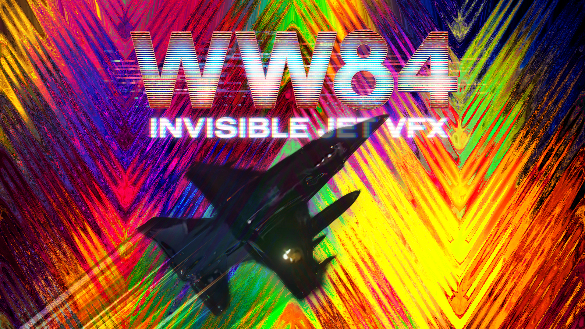 VFX Side Quest | Creating the Invisible Jet from Wonder Woman 1984